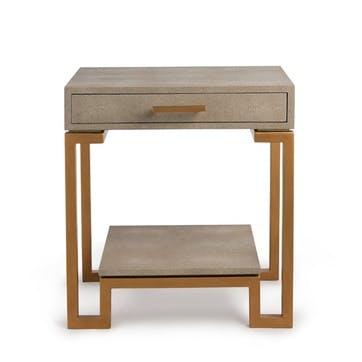 Flex Side Table, Cream