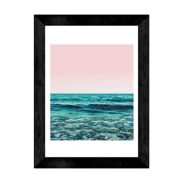 83 Oranges, Ocean Main Framed Art Print