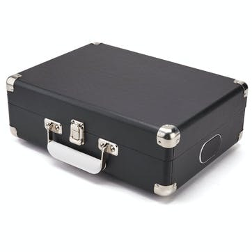 Attaché Case Turntable; Jet Black