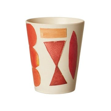 Set of 6 Elements Bamboo Cups