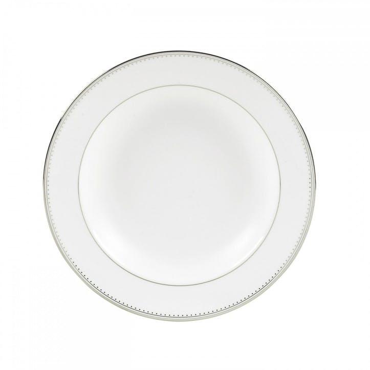 Grosgrain Rim Soup Plate