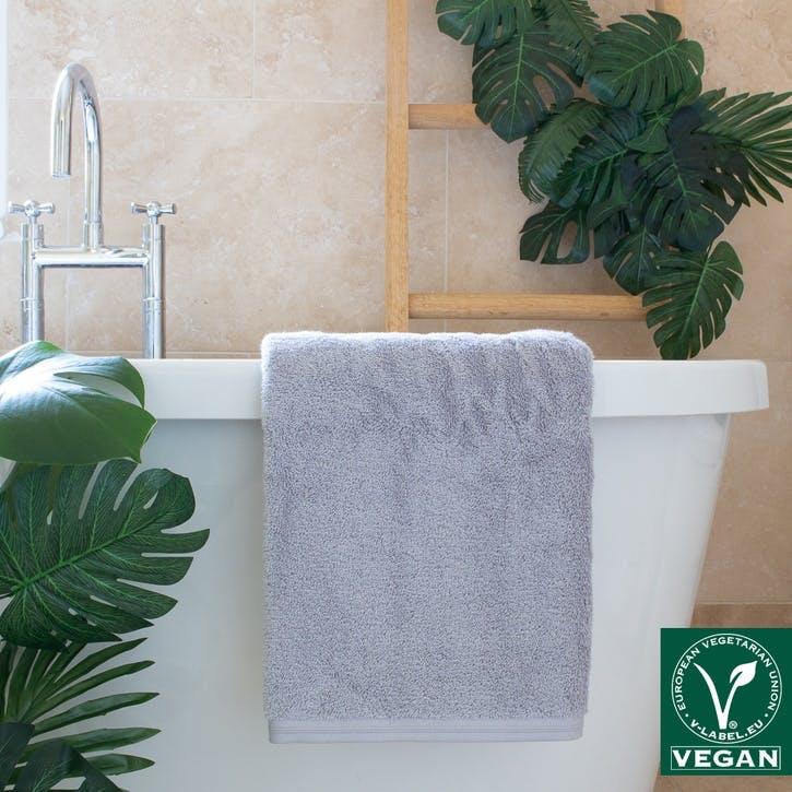 Vegan Life Bath Sheet, Shadow