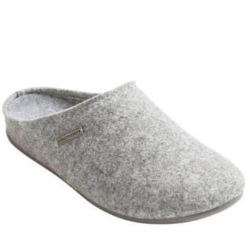 Cilla Ladies Slippers - Size 6; Grey