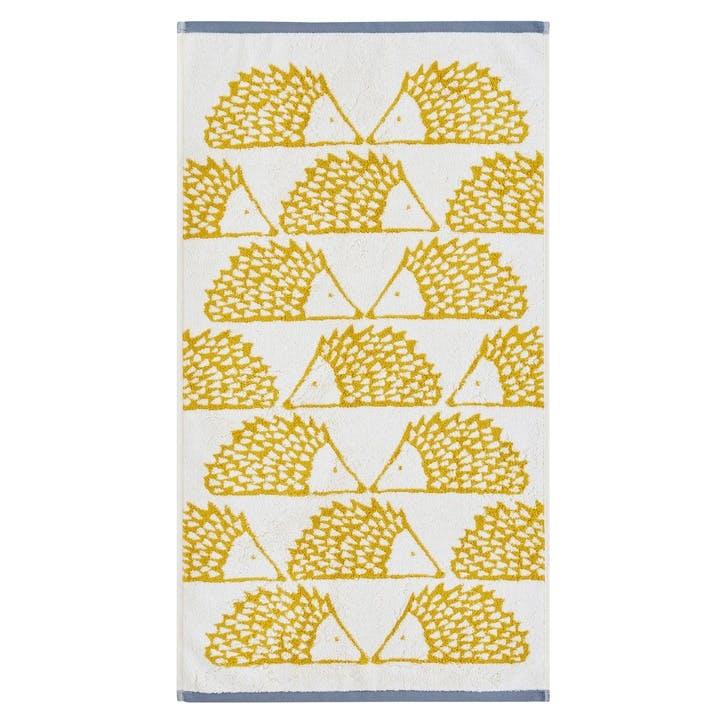 Spike the Hedgehog  Bath Sheet, Mustard