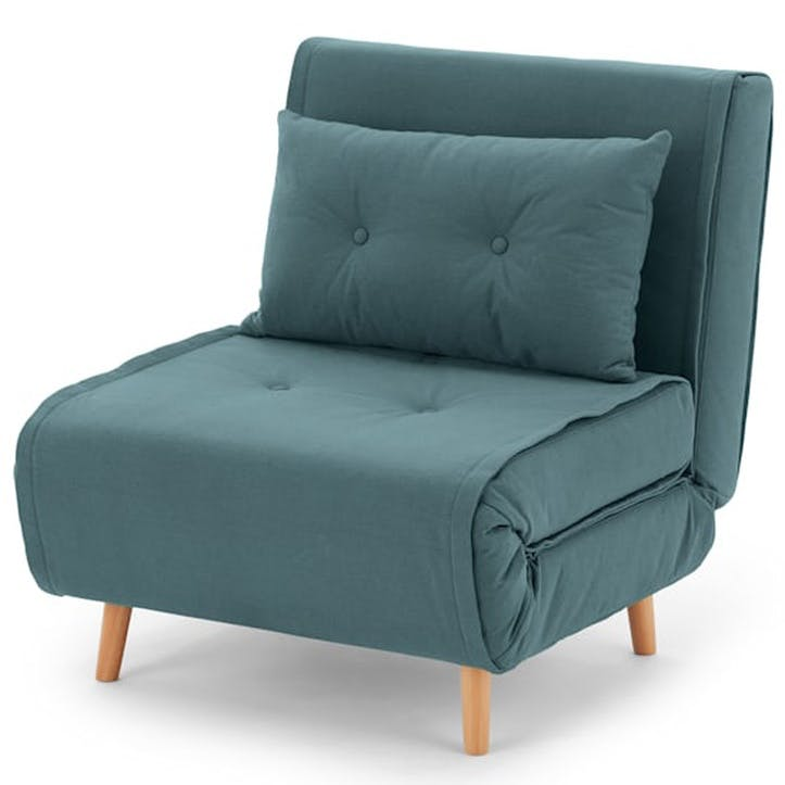 Haru Sofa Bed - Single; Sherbet Blue
