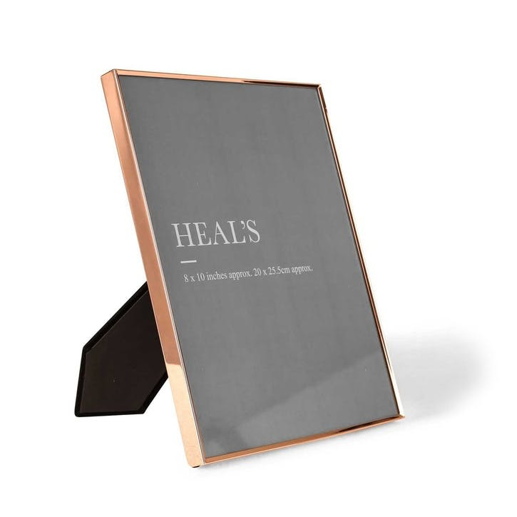 Simple Copper Photo Frame, 25.5 x 20cm