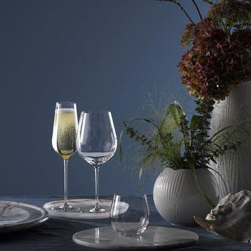 Globe Champagne Flute, Set of 2