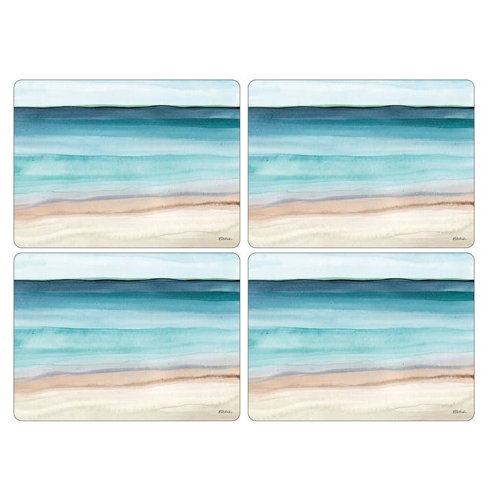 Coastal Shore Placemats, Set of 4