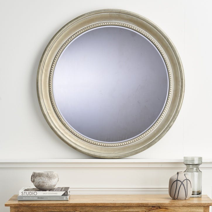 Eastford Round Metal Mirror, 68cm