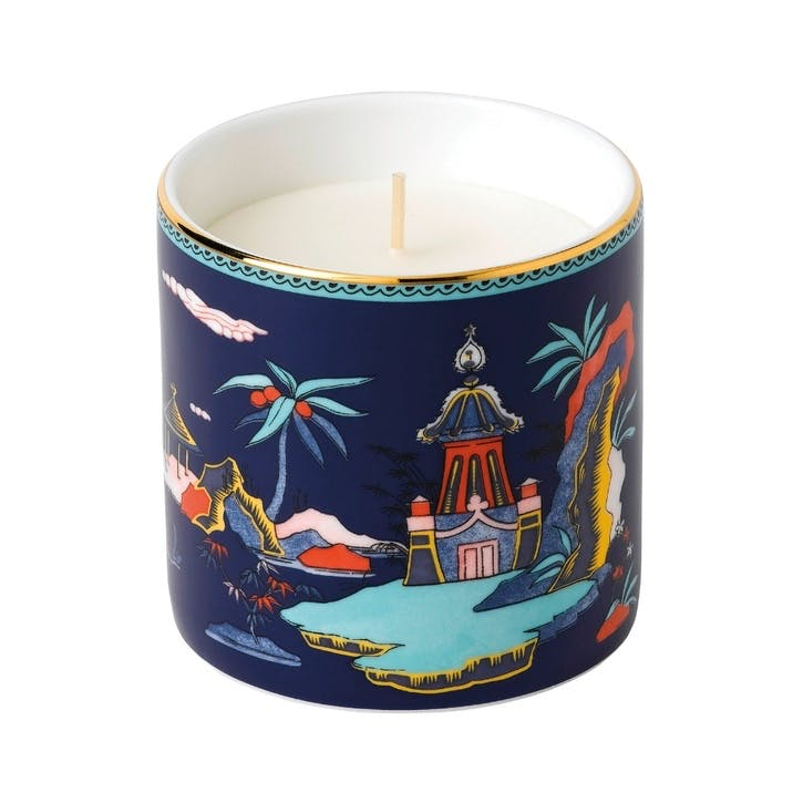 Wonderlust Blue Pagoda Scented Candle