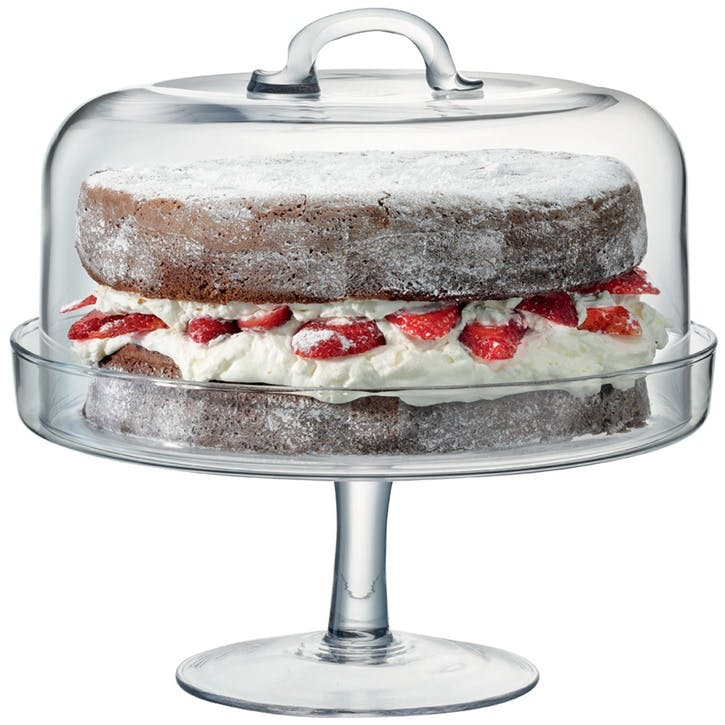 LSA Serve Cake Stand & Dome 26cm