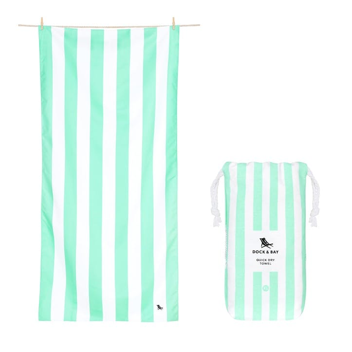 Cabana Beach Towel, Narabeen Green, Extra Large