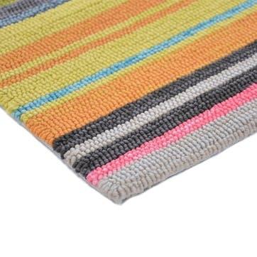 LaVida Striped Rug,160 x 230cm, Multi