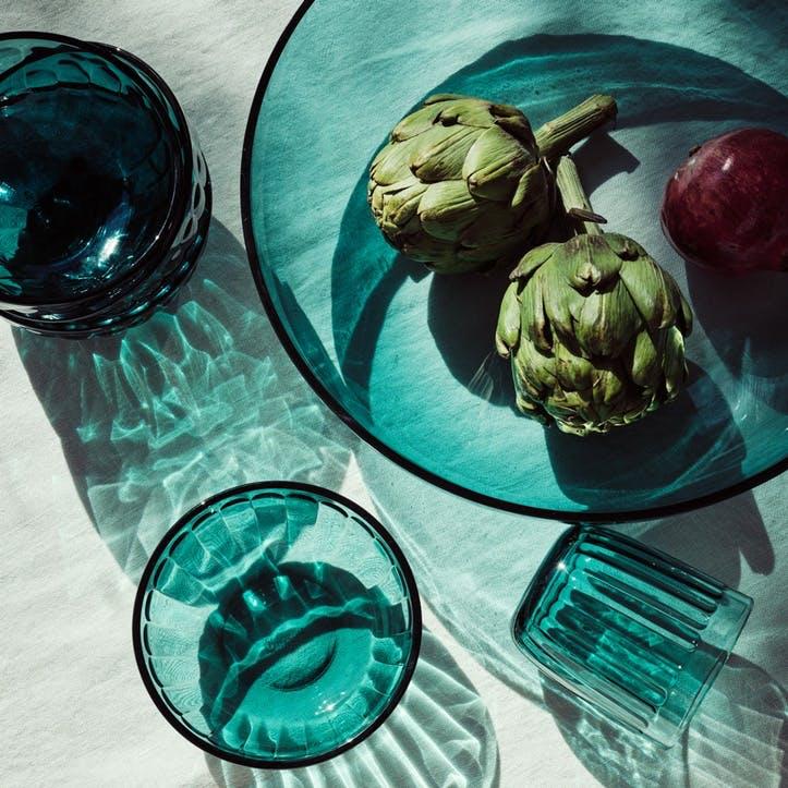 Raami Serving Bowl, Sea Blue