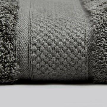 Shinjo Face Towel, Grey