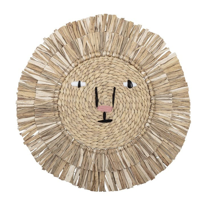 Hyacinth Lion Wall Decor