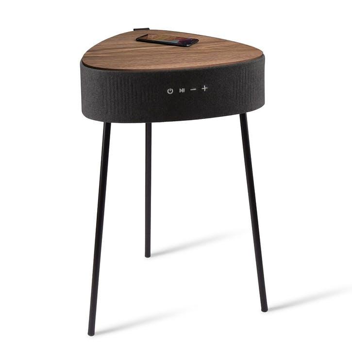 Riva Smart Side Table, Black