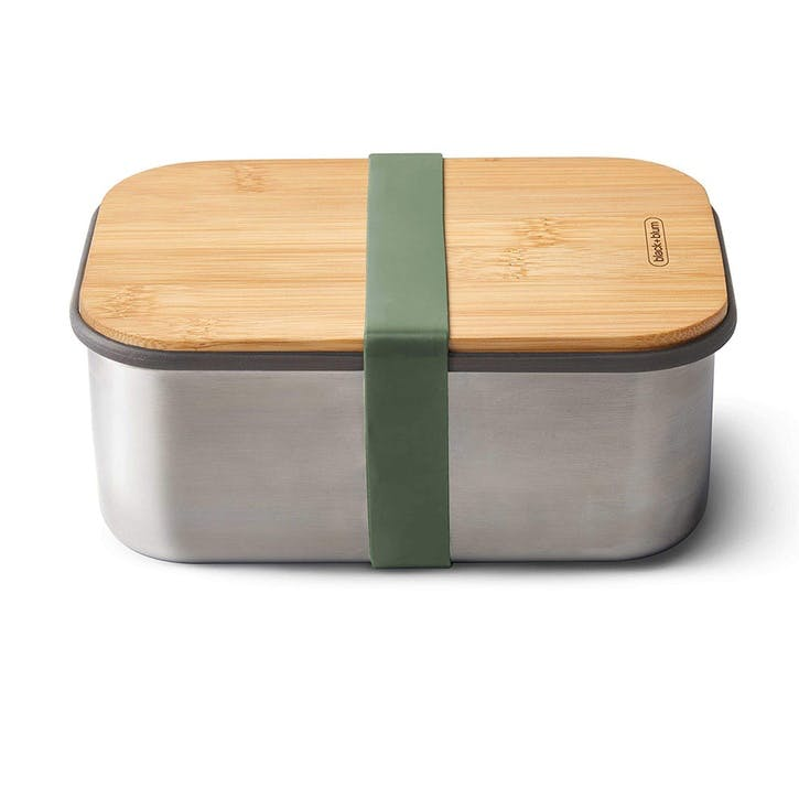 Stainless Steel Sandwich Box, 1.25L, Olive