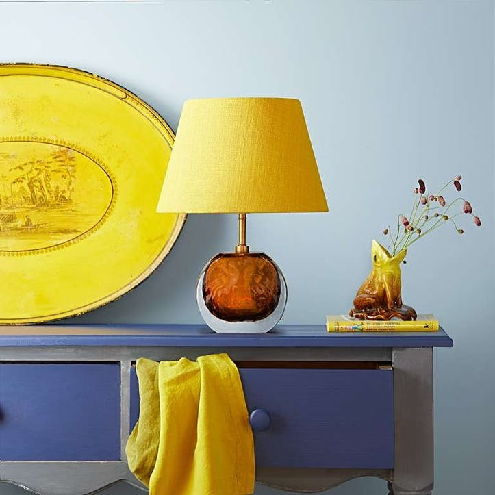 Sundance Table Lamp, Amber