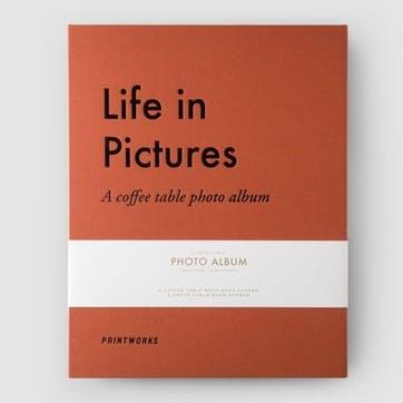 Life In Pictures Orange, Photo Album