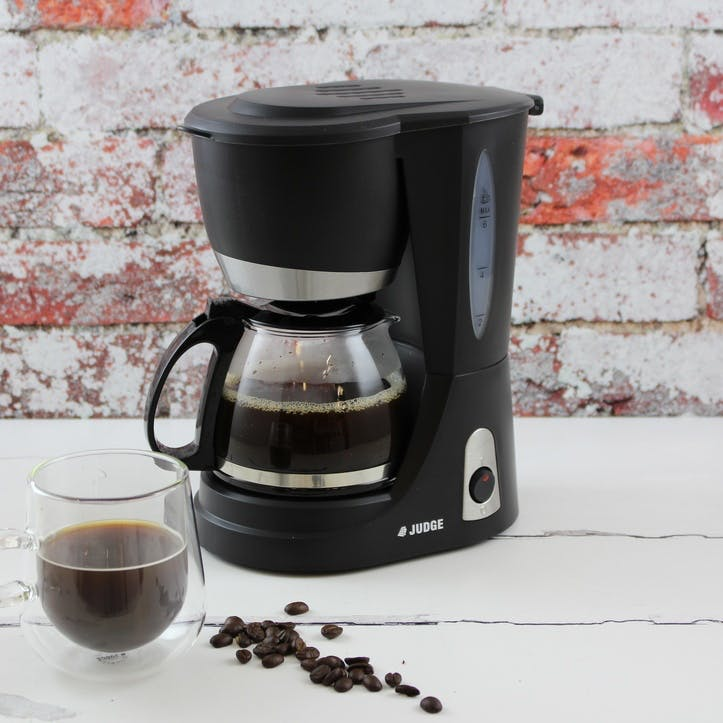 6 Cup Glass Jug Filter Coffee Machine