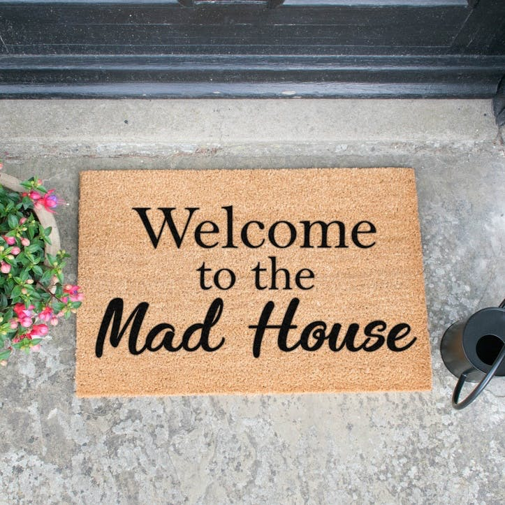 Welcome To The Madhouse Doormat