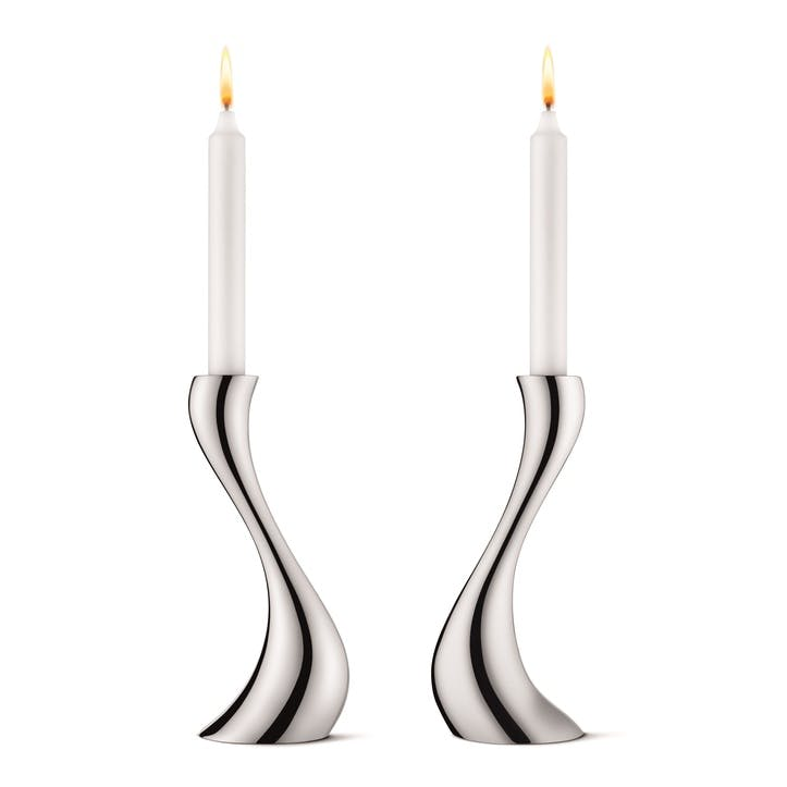 Medium Cobra Candle Holders, Set of 2