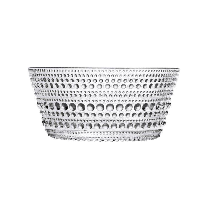 Kastehelmi Serving Bowl, Clear