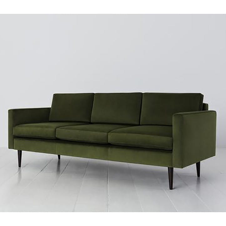 3 Seater Sofa, Model 01, Vine