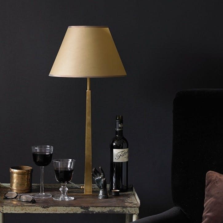 Trafalgar Table Lamp in Antique Brass, 45cm