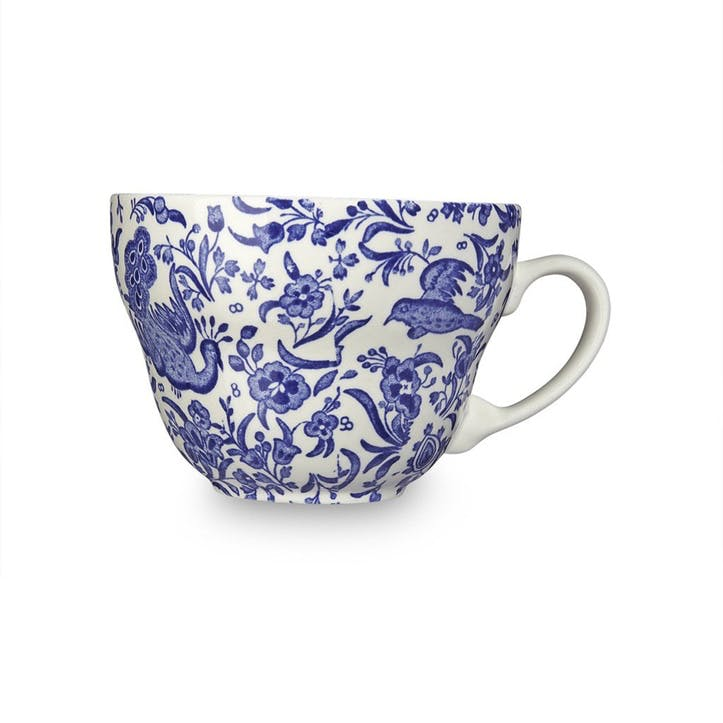 Regal Peacock Breakfast Cup, 425ml, Blue