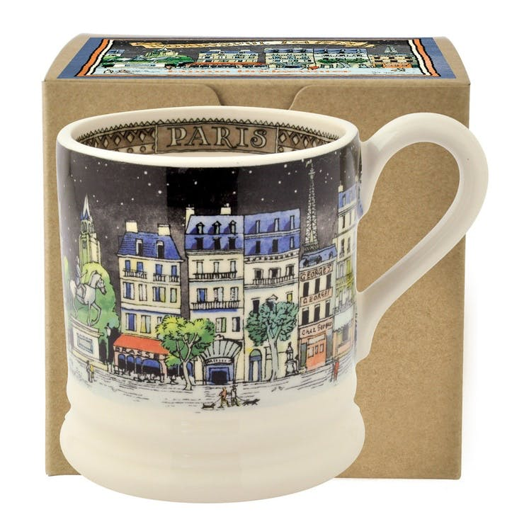 Cities of Dreams Paris Mug, 1/2 Pint