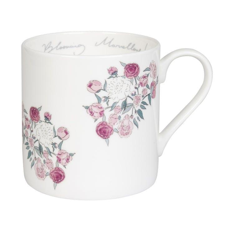 'Peony' Blooming Marvellous Mug - Standard