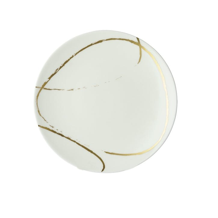 Sketch Chalk Coupe Side Plate - 21cm