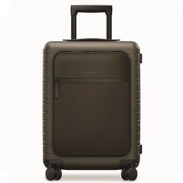 M5 Essential, Cabin Suitcase, W40 X H55 X D20cm, Dark Olive