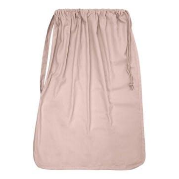 Panama Laundry And Storage Bag, H100 x W70cm, Pale Rose