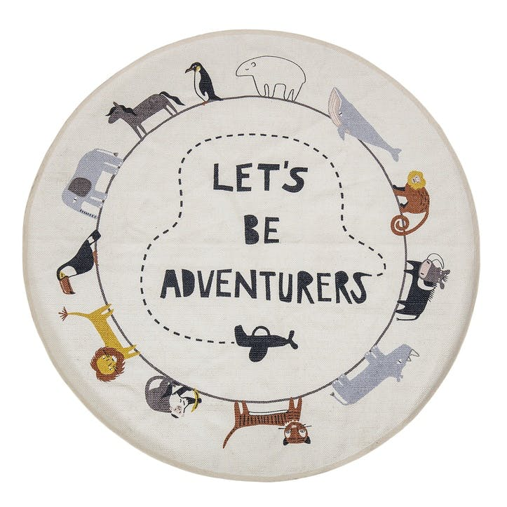 'Let's Be Adventurers' Rug