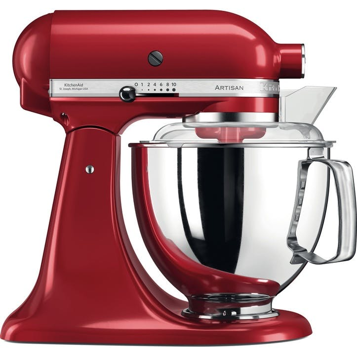 Artisan Stand Mixer with FREE 4.8L Glass Mixing Bowl, 4.8L, Empire Red
