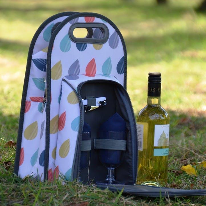 Beau & Elliot Raindrops Wine Carrier
