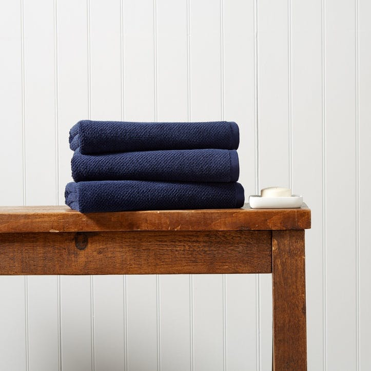 Brixton Hand Towel,  Midnight