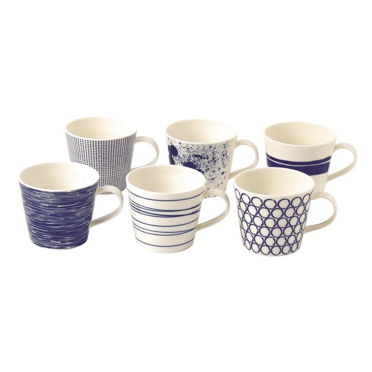 Pacific Mugs, Set of 6