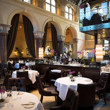 Michelin Starred Galvin La Chapelle Seven Course Vegan Menu Gourmand for Two with Cookbook