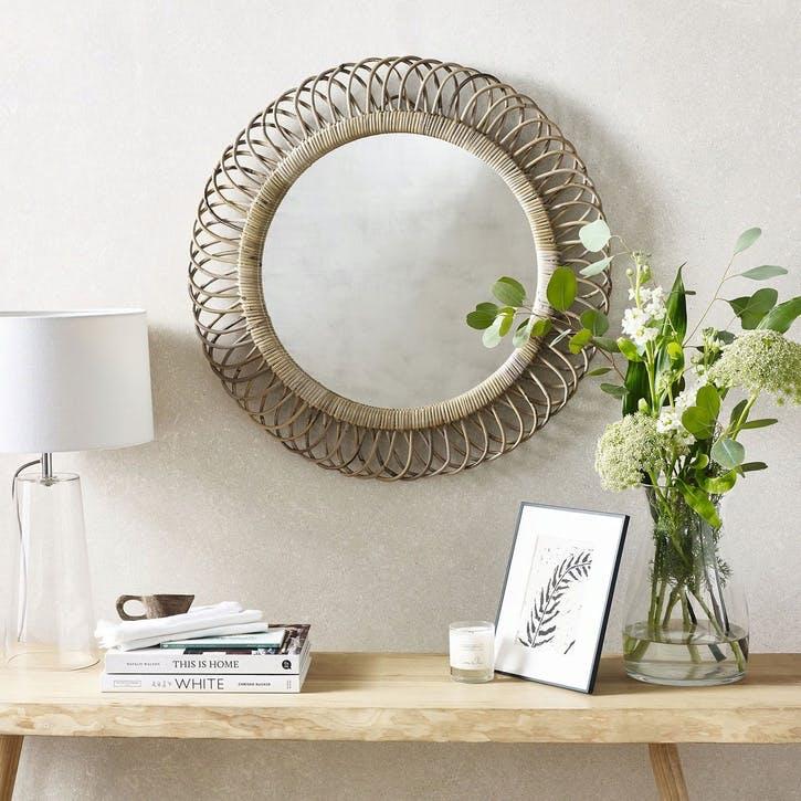 Round Kubu Mirror