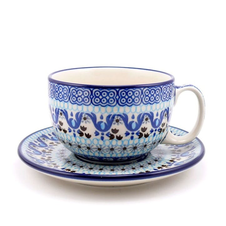 Spring Flowers Cup & Saucer, 0.35L