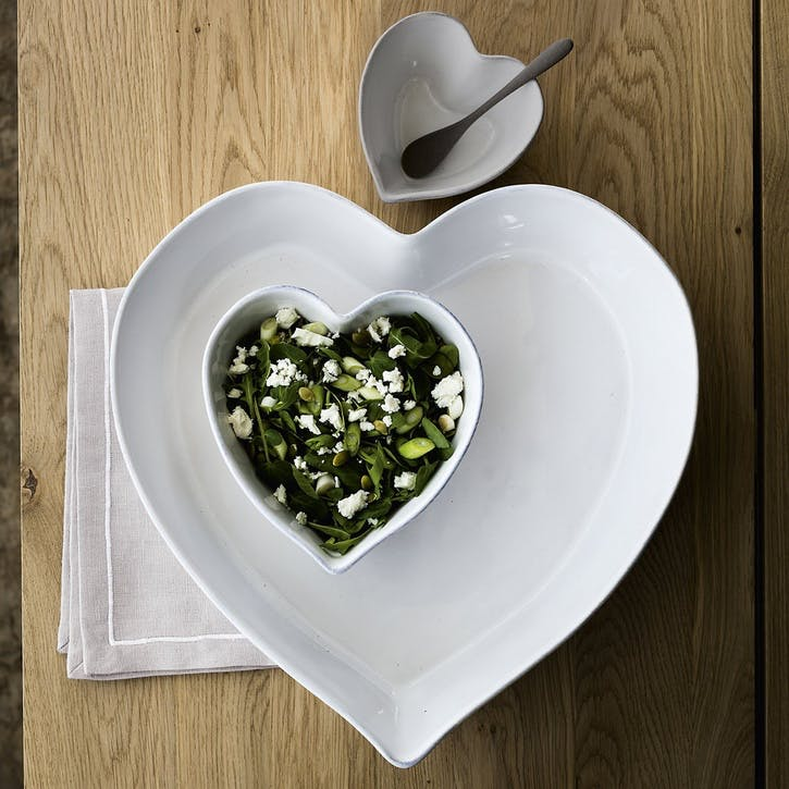 Porto Stoneware Heart Ramekin