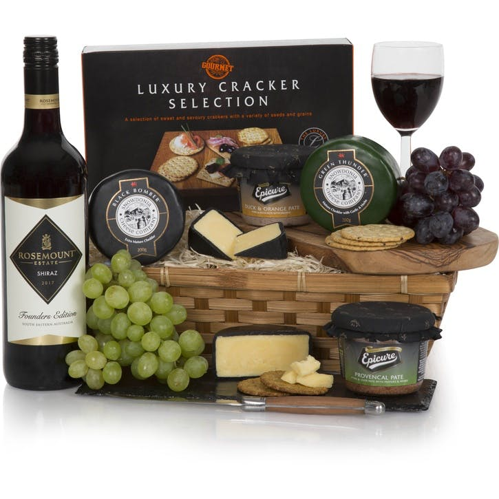 Wine, Cheese and Pâté Gift Hamper