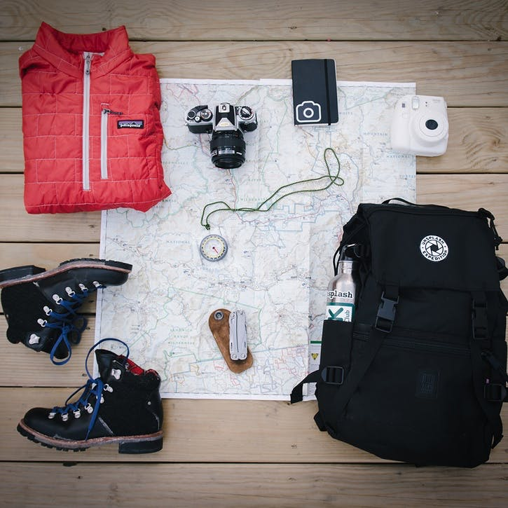 Honeymoon Hiking Gear