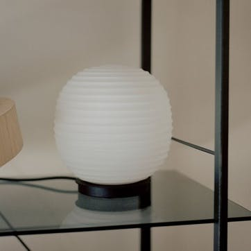 Globe, Table Lamp, D20cm, Frosted Opal Glass