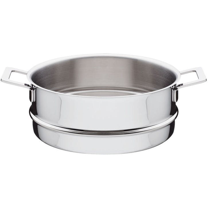 Pots & Pans Stainless Steel Steamer Basket - 24cm