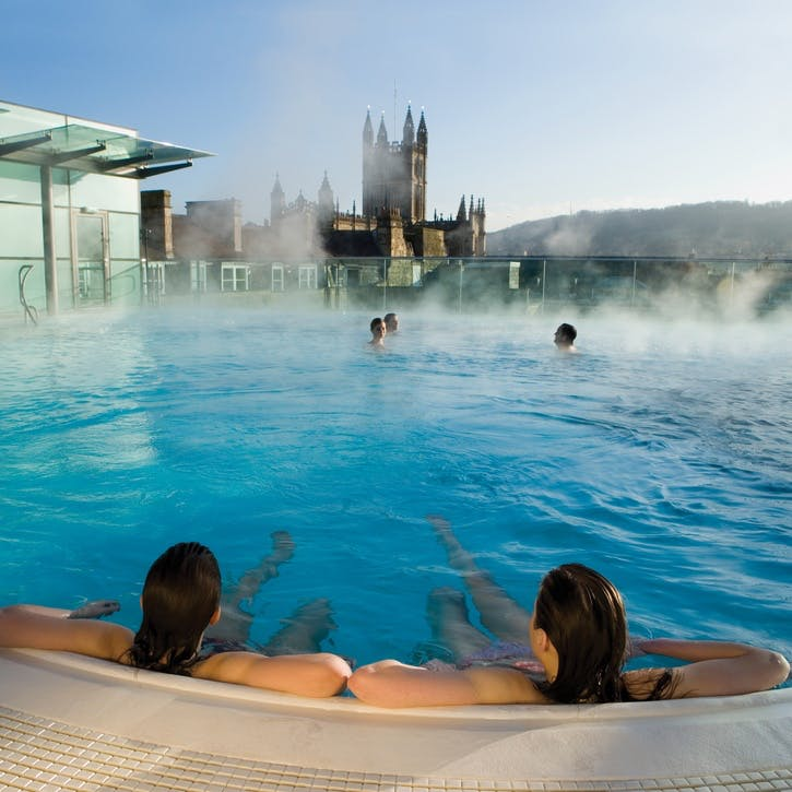 Voucher for four-night midweek spa minimoon in your own Bath Boutique Stays property